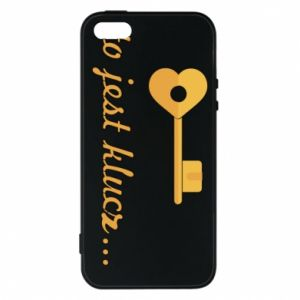 Phone case for iPhone 5/5S/SE This is the key ...