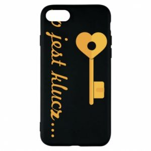 Phone case for iPhone 7 This is the key ...
