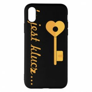 Phone case for iPhone X/Xs This is the key ...