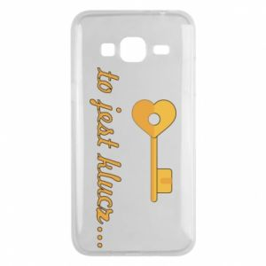 Phone case for Samsung J3 2016 This is the key ...