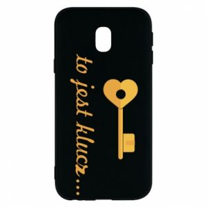 Phone case for Samsung J3 2017 This is the key ...