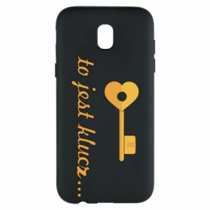 Phone case for Samsung J5 2017 This is the key ...