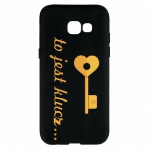 Phone case for Samsung A5 2017 This is the key ...