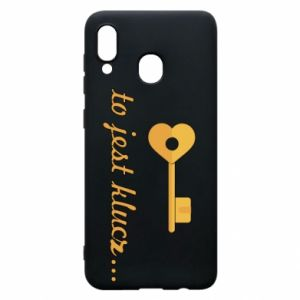 Phone case for Samsung A30 This is the key ...
