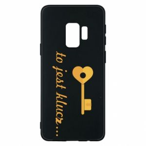 Phone case for Samsung S9 This is the key ...