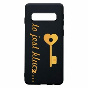 Phone case for Samsung S10 This is the key ...