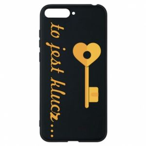Phone case for Huawei Y6 2018 This is the key ...