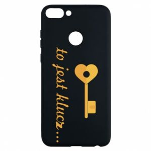 Phone case for Huawei P Smart This is the key ...