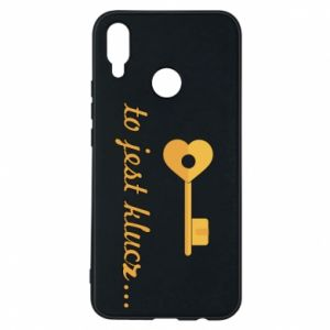 Phone case for Huawei P Smart Plus This is the key ...