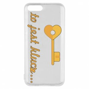 Phone case for Xiaomi Mi6 This is the key ...