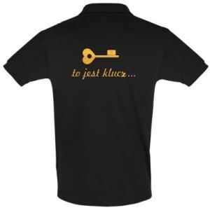 Men's Polo shirt This is the key ...