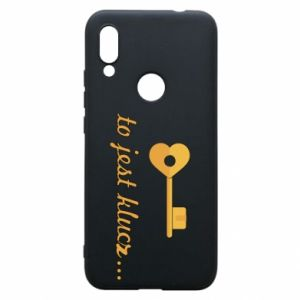 Phone case for Xiaomi Redmi 7 This is the key ...