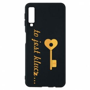 Phone case for Samsung A7 2018 This is the key ...
