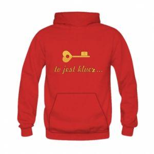 Kid's hoodie This is the key ...