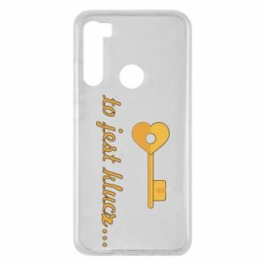 Xiaomi Redmi Note 8 Case This is the key ...