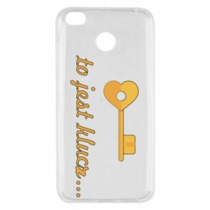Xiaomi Redmi 4X Case This is the key ...