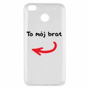 Etui na Xiaomi Redmi 4X To mój brat