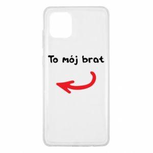Etui na Samsung Note 10 Lite To mój brat