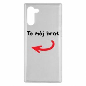 Etui na Samsung Note 10 To mój brat