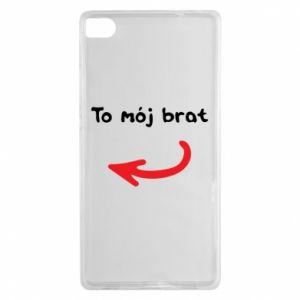 Etui na Huawei P8 To mój brat