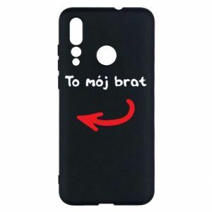 Etui na Huawei Nova 4 To mój brat