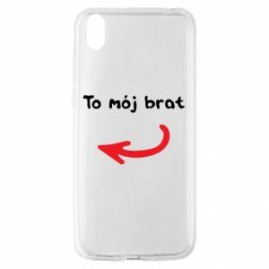 Etui na Huawei Y5 2019 To mój brat