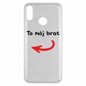 Etui na Huawei Y9 2019 To mój brat