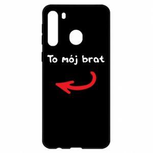 Etui na Samsung A21 To mój brat