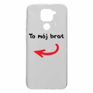 Etui na Xiaomi Redmi Note 9/Redmi 10X To mój brat
