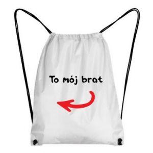 Plecak-worek To mój brat