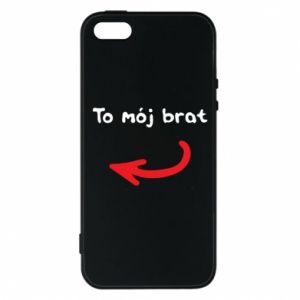 Etui na iPhone 5/5S/SE To mój brat