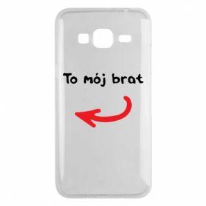 Etui na Samsung J3 2016 To mój brat