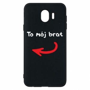 Etui na Samsung J4 To mój brat