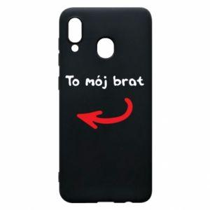 Etui na Samsung A20 To mój brat