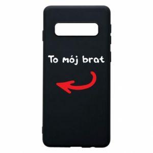Etui na Samsung S10 To mój brat
