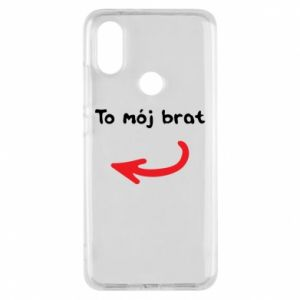 Etui na Xiaomi Mi A2 To mój brat