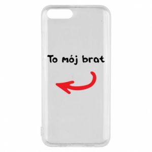 Etui na Xiaomi Mi6 To mój brat