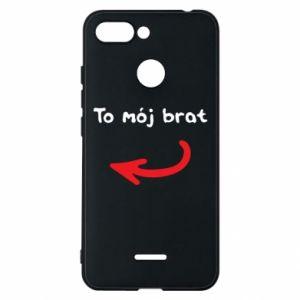 Etui na Xiaomi Redmi 6 To mój brat