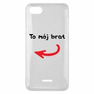 Etui na Xiaomi Redmi 6A To mój brat