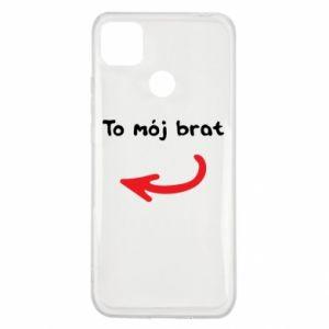 Etui na Xiaomi Redmi 9c To mój brat
