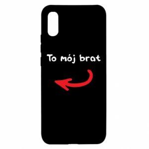 Etui na Xiaomi Redmi 9a To mój brat