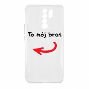 Etui na Xiaomi Redmi 9 To mój brat