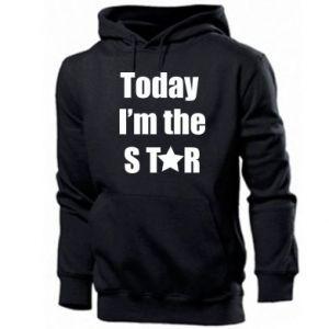 Męska bluza z kapturem Today I'm the STАR