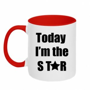 Kubek dwukolorowy Today I'm the STАR