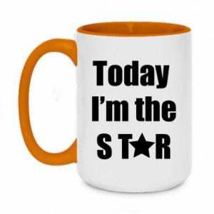 Kubek dwukolorowy 450ml Today I'm the STАR