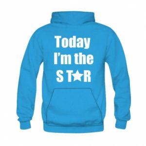 Kid's hoodie Today I'm the STАR