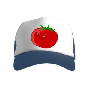 Kid's Trucker Hat Tomato
