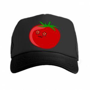 Trucker hat Tomato