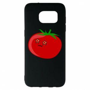Samsung S7 EDGE Case Tomato
