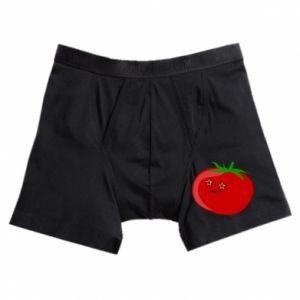 Boxer trunks Tomato